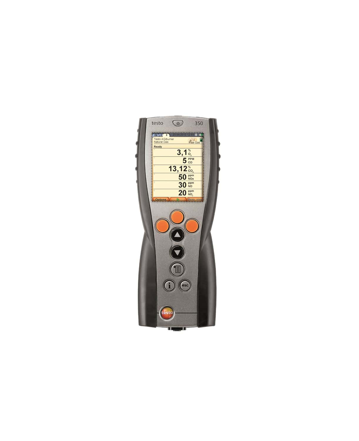 testo 350 - Control Unit for exhaust gas analysis systems