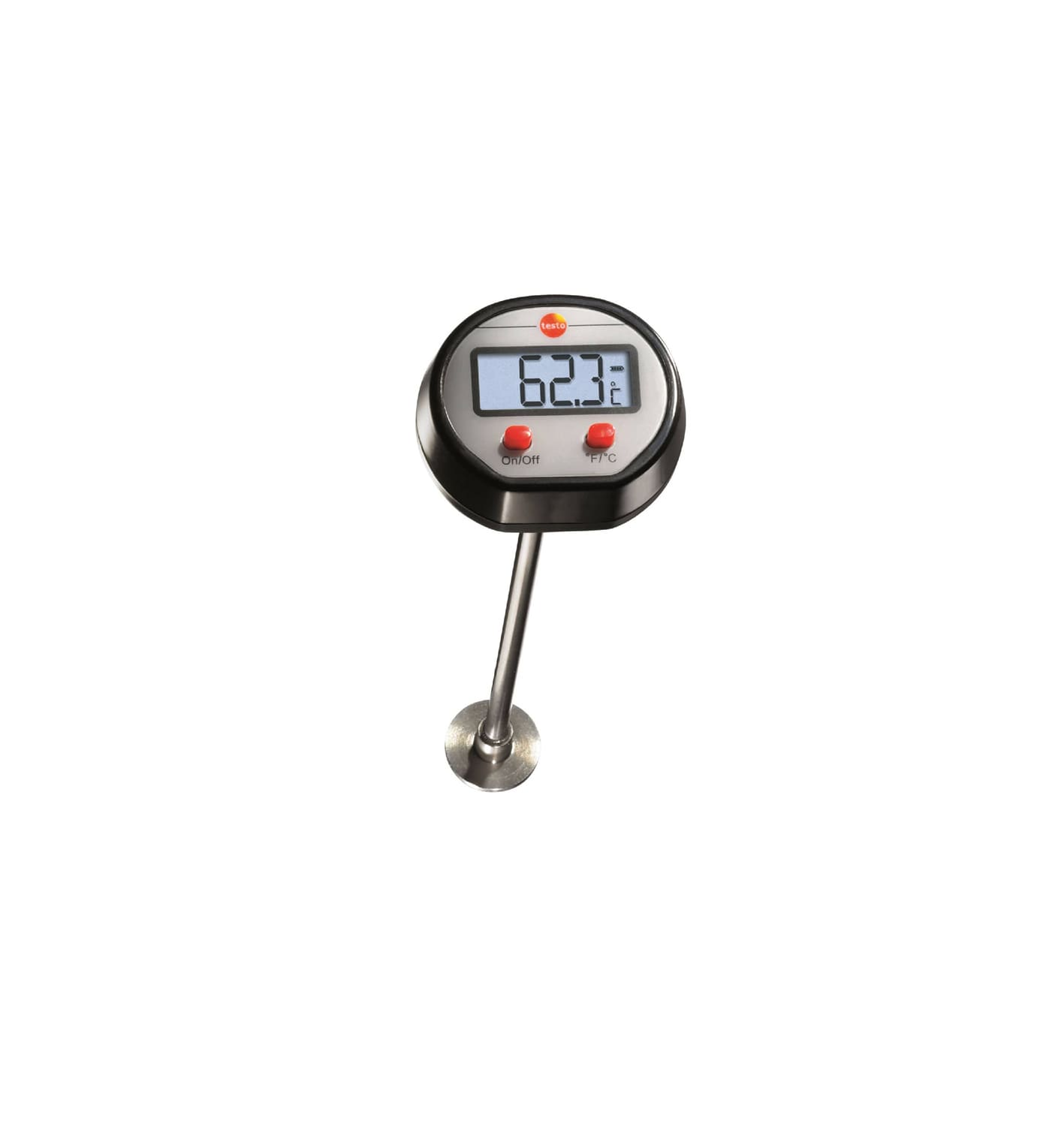 Mini surface thermometer
