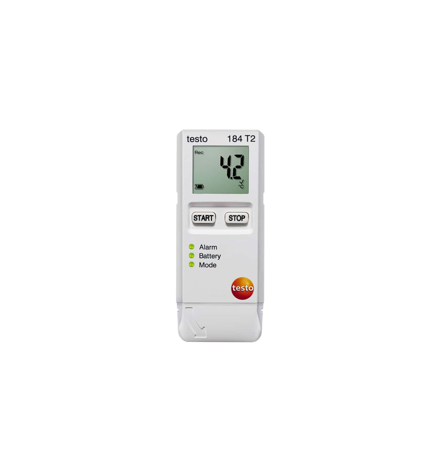 testo 184 T2 - Temperature data logger for transport monitoring