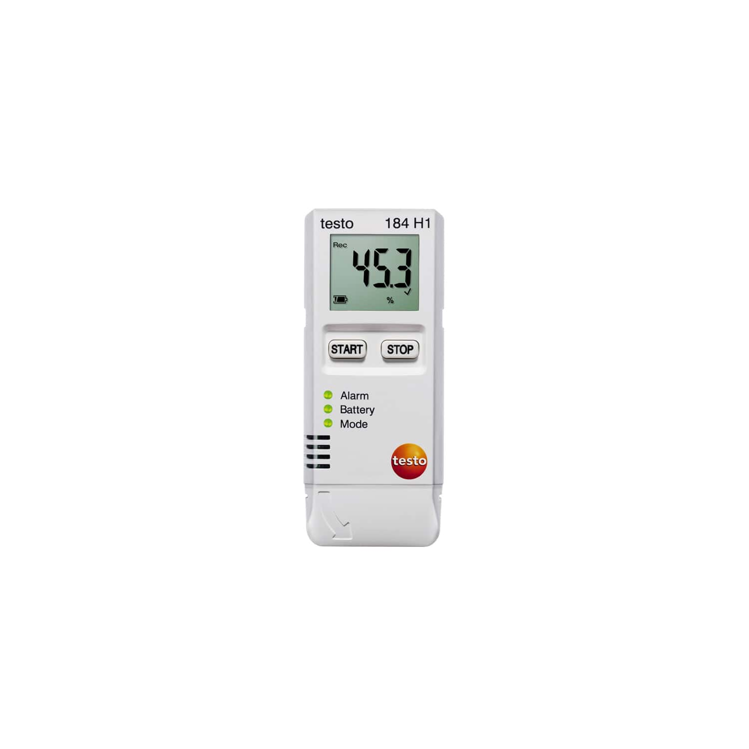testo 184 H1 - Air humidity and temperature data logger for transport monitorin
